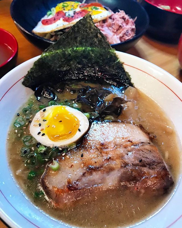 Theres a NEW RAMEN JOINT IN TOWN and theyre not messing around!    Voted BEST RAMEN IN CHICAGO @stringsramen opened their 3rd location right here in #MadisonWI. Theyre  in good company located on 311 N. Francis St. right next to Ians Pizza and Dottys.  They make their broth FROM SCRATCH and is seriously soooooo good! Their Tonkotsu Ramen is the business! WATCH OUR INSTASTORY & HIGHLIGHTS FOR MORE PRO TIP Get there early. Its first come first serve. No reservations. You can order things to-go…