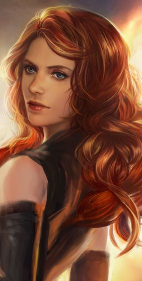 Female Characters With Red Hair 1495 best images about...