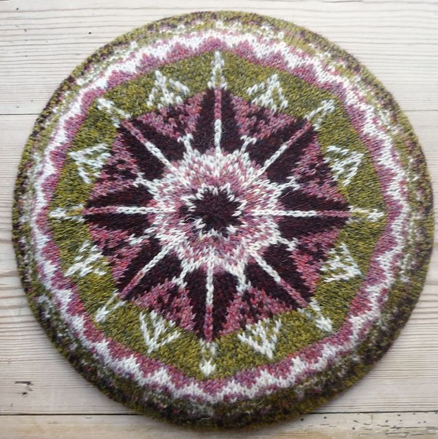 Ravelry: Colour your own Fair Isle Tam pattern by Ruskin's notes