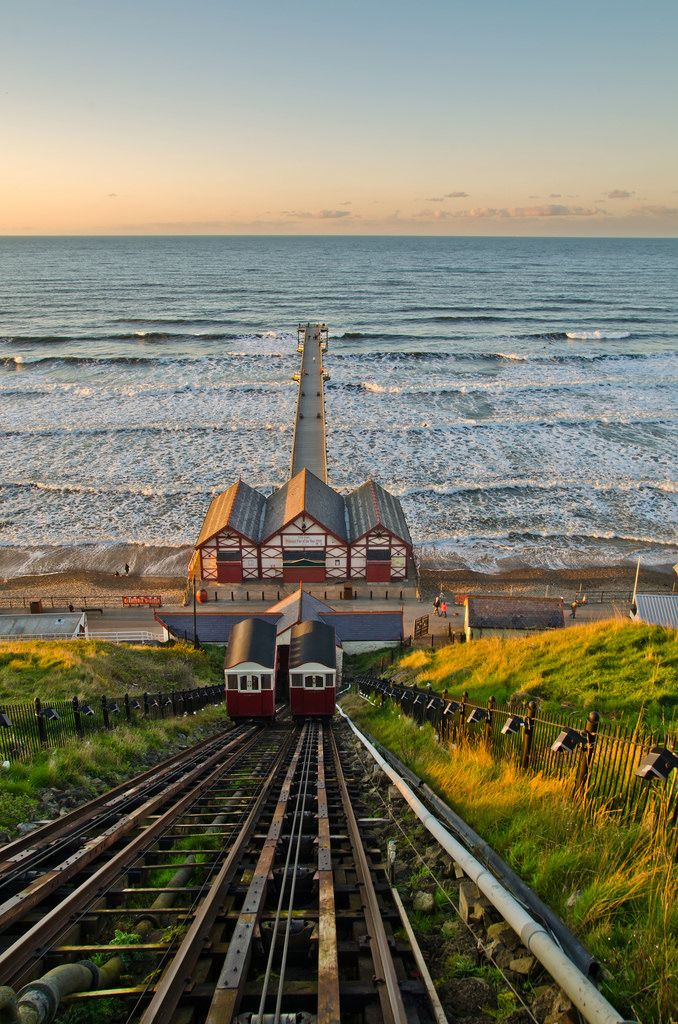 travel-dream-discover: Saltburn Pier, North Yorkshire, England (by paul downing / Flickr) — FUCKITANDMOVETOBRITAIN