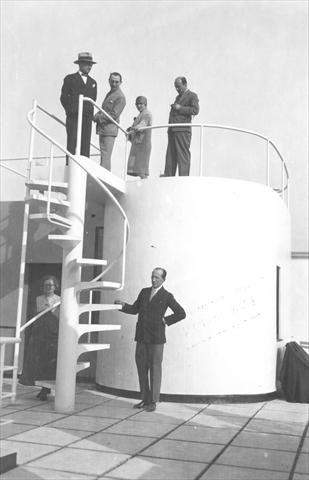 """Le Corbusier   Charles-Édouard Jeanneret-Gris (1887-1965)   """"Les Terrasses""""   Villa Stein-de-Monzie a Garches"""