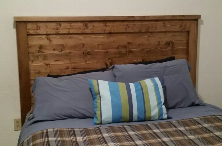Wooden Headboard, Pine Headboard, Handmade Wooden Headboard, Rustic Headboard, Custom Headboard by WaverlyGrains on Etsy