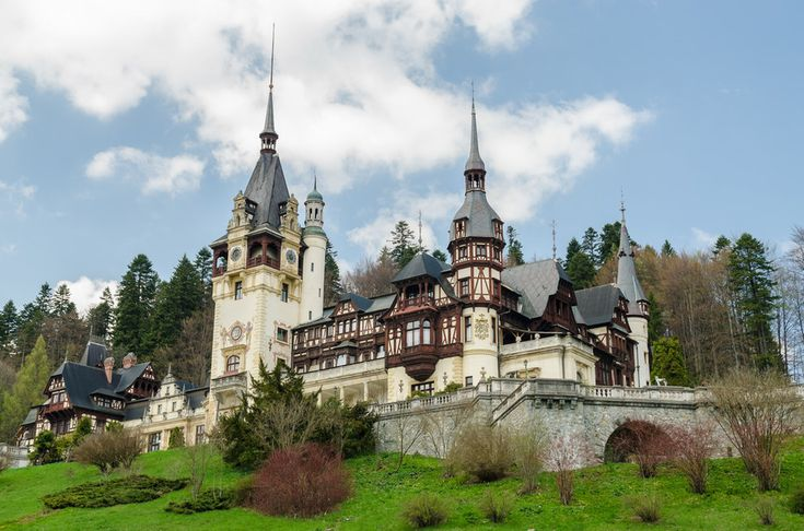 26 Fairy Tale Places. #21: Peleș Castle, Romania. Been there and to #25: Versailles... 24 more to go.