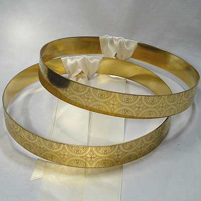 Greek Orthodox Wedding Crowns. Stefana.