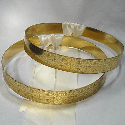 Greek Orthodox Wedding Crowns. Stefana.