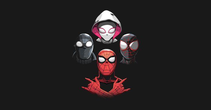 Arachnid Rhapsody (Spiderman Noir Variant) by amodesigns
