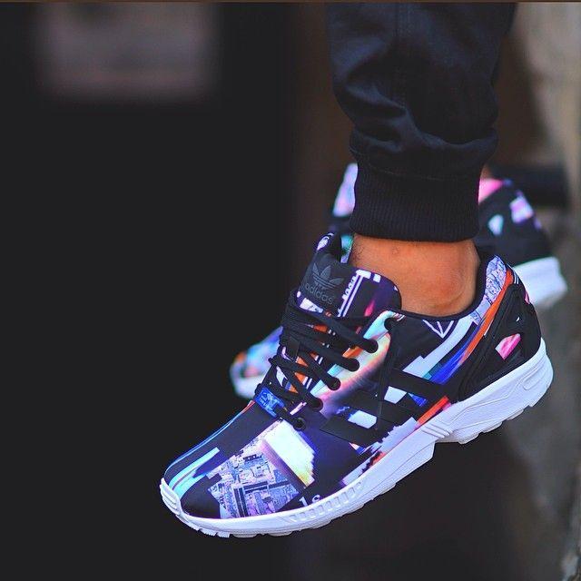 On-foot look at our new @adidas Originals ZX Flux - Y'all Flux w/em or na? #AdidasOriginals #ZXFLux #cornycaption