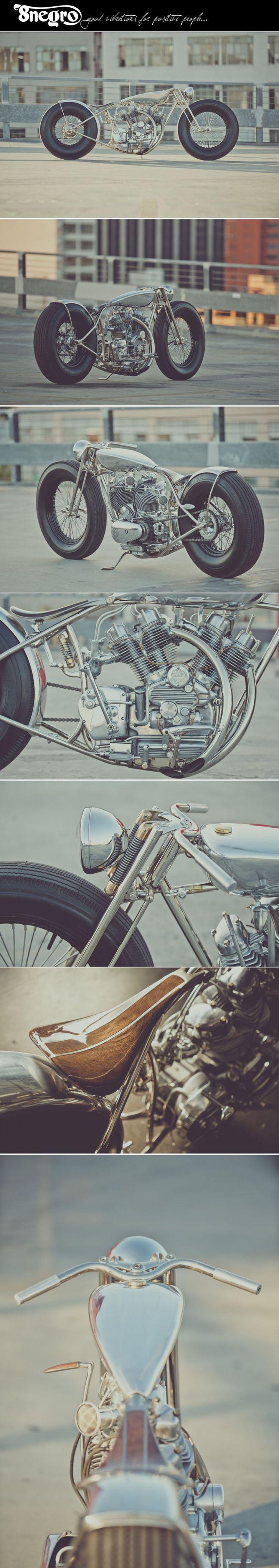 'The Musket' Royal Enfield V-twin:: Hazan Motorworks. 8negro