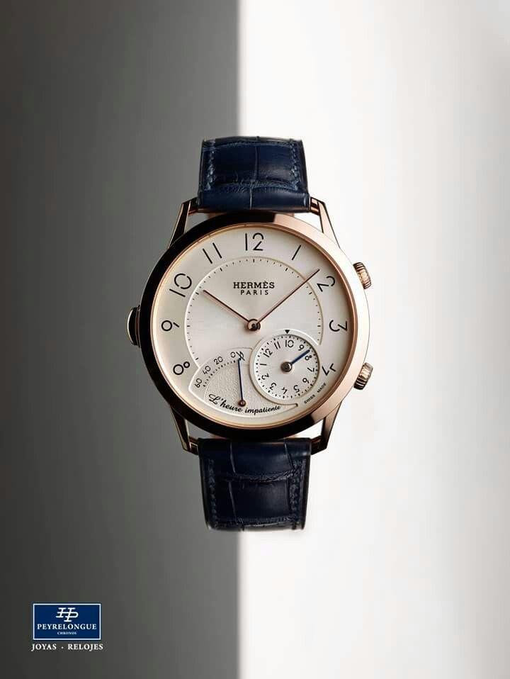 #TiempoPeyrelongue El tiempo Hermès cultiva la extravagancia de conciliar el rigor con la fantasía. Hay que manejar la paradoja con aplomo para imaginar un reloj capaz de intensificar nuestras emociones. Eso es precisamente lo que se propone L'heure impatiente, una complicación que nos invita a anticipar el disfrute de momentos que están por llegar. / #watchoftheday / #watchmania / #reloj / #dailywatch / #watchfam / #watchnerd / #horology / #watchgeek / #watchaddict / #luxury…