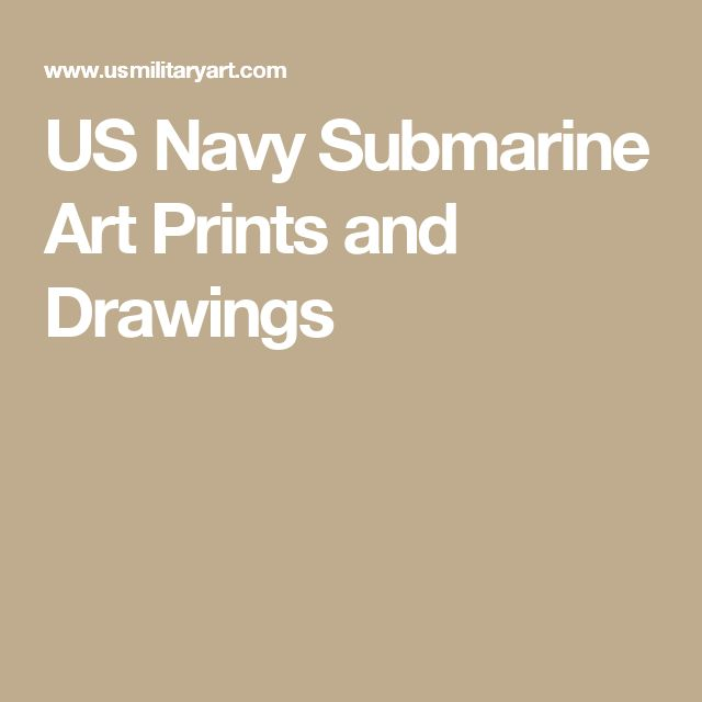 US Navy Submarine Art Prints and Drawings