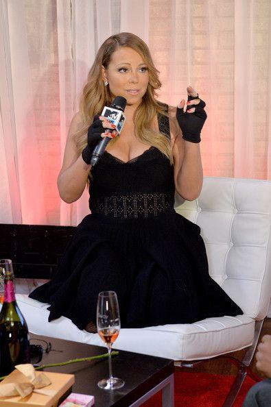 "Mariah Carey Photos - Singer Mariah Carey attends MTV First: Mariah Carey's ""You're Mine (Eternal)"" music video world premiere at MTV Studios on February 12, 2014 in New York City. - MTV First: Mariah Carey's ""You're Mine (Eternal)"""