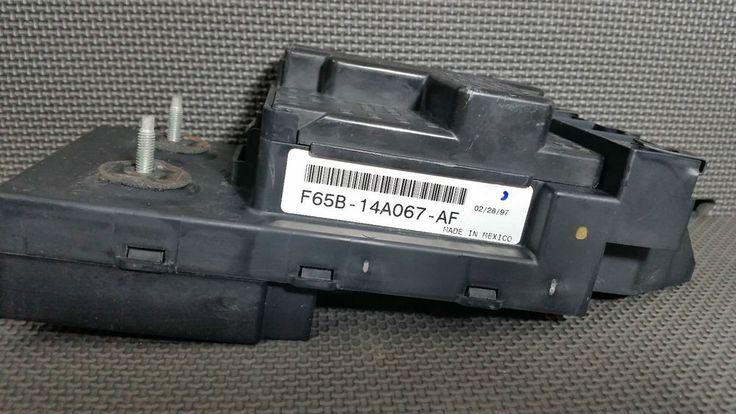 1997 1998 Ford F150 UNDER DASH IN CAB FUSE RELAY BOX OEM