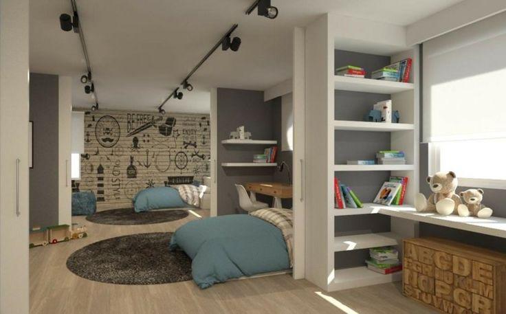 Kinderzimmer für Zwei einrichten - 20 clevere und ...