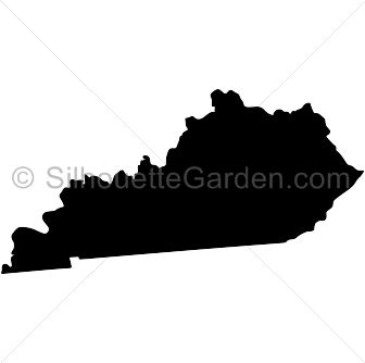 Kentucky Silhouette Clip Art Download Free Versions Of