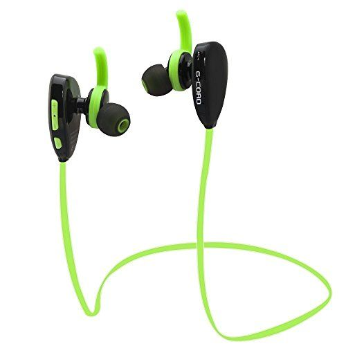 G-Cord Bluetooth Headphones Wireless V4.1 In-Ear Sweatproof Earbuds Noise Cancelling Earphones  http://topcellulardeals.com/product/g-cord-bluetooth-headphones-wireless-v4-1-in-ear-sweatproof-earbuds-noise-cancelling-earphones/  Easily and fastly pairing with smartphones, tablets and other bluetooth enabled music devices The noise cancelling technology reduces outside noise and allows for a more enjoyable listening experience by neutralizing noise interference No more wires t