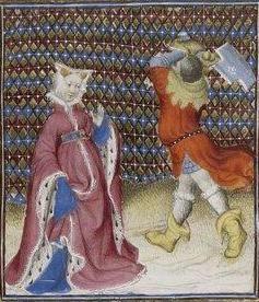 Giovanni Boccaccio, De Claris mulieribus; Paris Bibliothèque nationale de France MSS Français 598; French; 1403, 127r. http://www.europeanaregia.eu/en/manuscripts/paris-bibliotheque-nationale-france-mss-francais-598/en