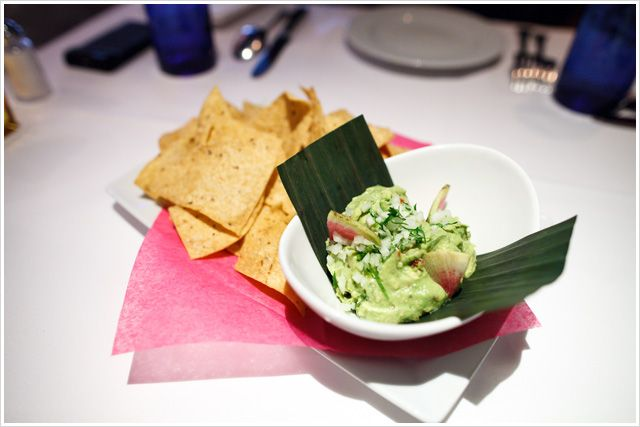 Guacamole from * 1-Michelin Star rated TOPOLOBAMPO in Chicago