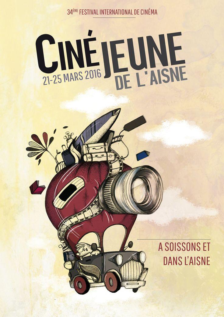 Concours Ciné Jeunes de l'Aisne, Pauline BARRIN sélectionnée dans les 6 premiers @ 3e année 2015