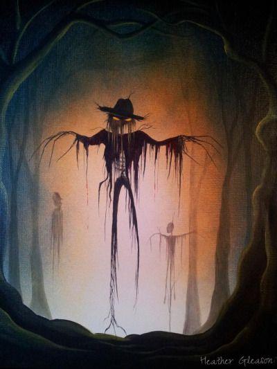 myeclecticmind-halloween-art:  ... • Halloween Artist Heather Gleason