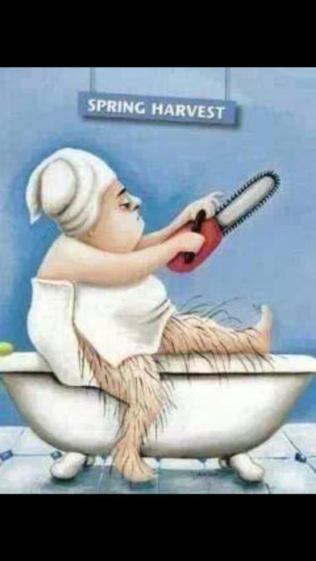 The good weathers on its way... Hopefully! So don't forget to book in your waxing waxing ladies. 01242 226644
