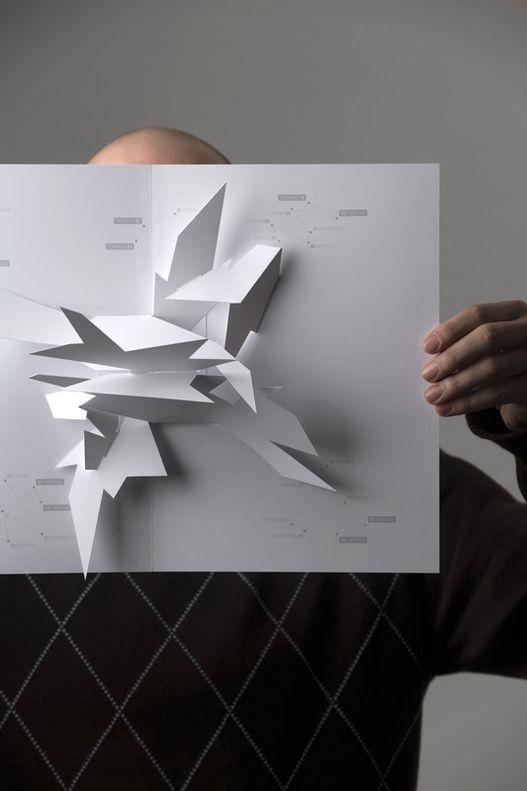 Paper Engineering Kinetic Mechanical Sculpture Brand Identity DesignBranding / Identity / Design