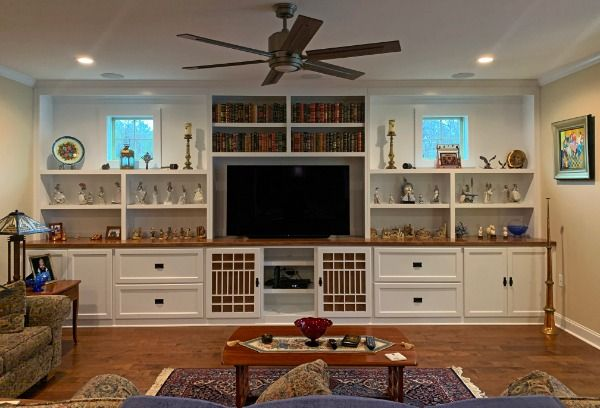 Living Room Built In With Tv Opening Built Ins Built In Entertainment Center Custom Cabinets