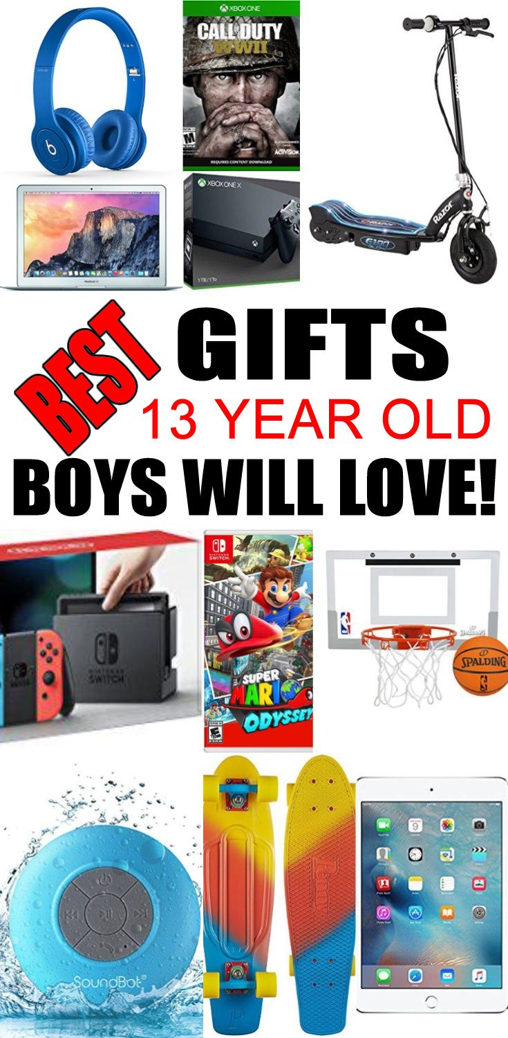 Top Gifts For 13 Year Old Boys Best Suggestions Presents A Thirteenth Birthday Christmas Or Just Because Find The