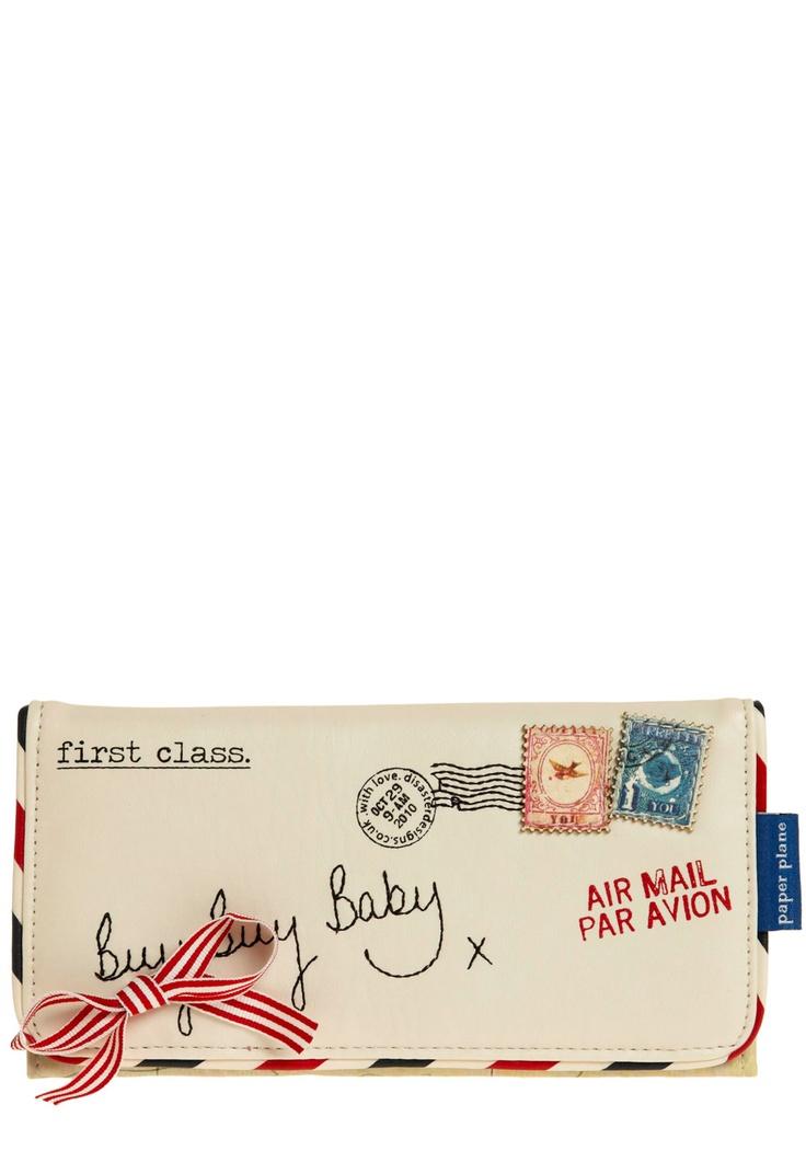 Keep You Posted Wallet | Mod Retro Vintage Wallets | ModCloth.com