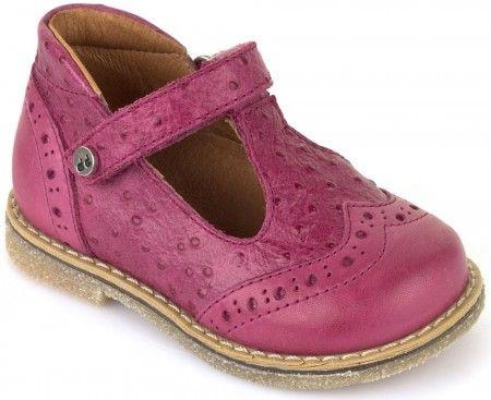 Froddo G2140026-1 Pink T-bar Shoes