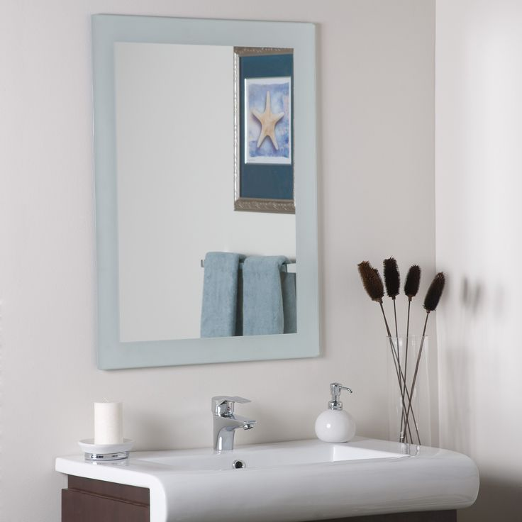 Gallery One Shop Decor Wonderland Sands Frameless Wall Mirror at Lowe us Canada Find our selection of bathroom mirrors at the lowest price guaranteed with price match