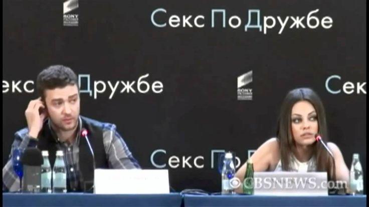 Mila Kunis chews out Russian reporter - in Russian!