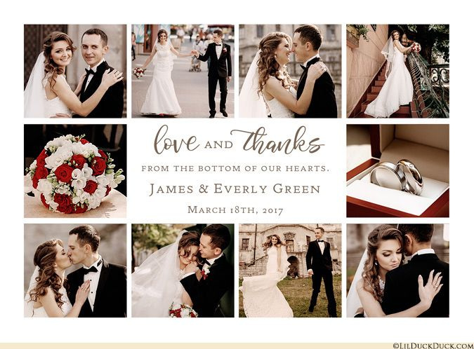 17 Best ideas about Thank You Card Wording – Create Your Own Wedding Thank You Cards