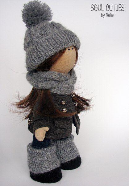 Текстильные куклы. Интерьерные куклы. Handmade.