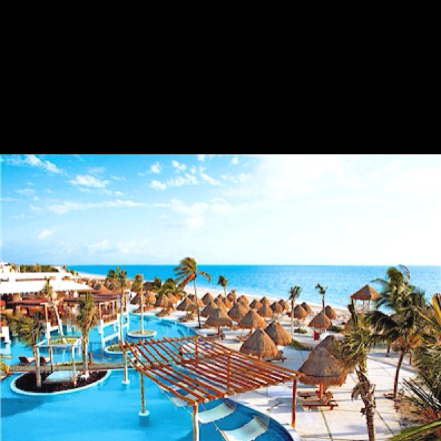 Excellence Playa Mujeres, Mexico.  We'll be heading here in July!