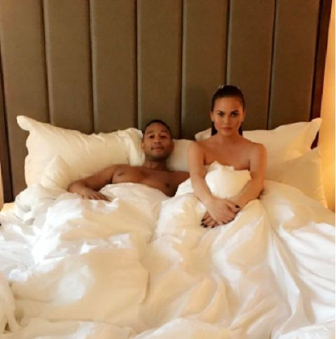 Chrissie Teigen, popular American model and wife of star musician John Legend has revealed what made her stop having doggy style s*x with the husband.