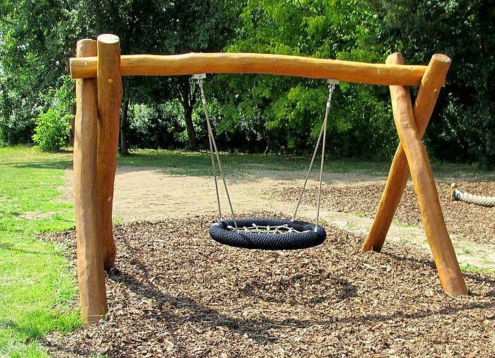 Nestschaukel Kindergarten geeignet- Ziegler Spielplätze