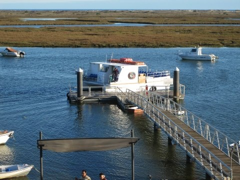 Santa Luzia ferry warming up for the new season