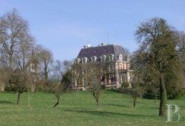 les châteaux à vendre - champagne-ardennes - Une maison de maître et son parc de 5 ha à une demi-heure de Reims 995