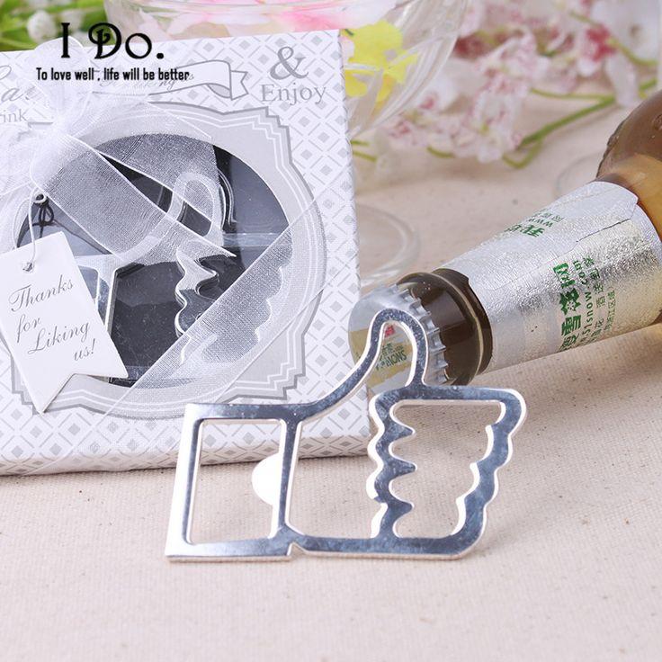 Бесплатная Доставка Thumb Открывалка для бутылок Свадебной И Подарки Свадьба Поставок Свадебные Подарки Сувениры Для Гостей