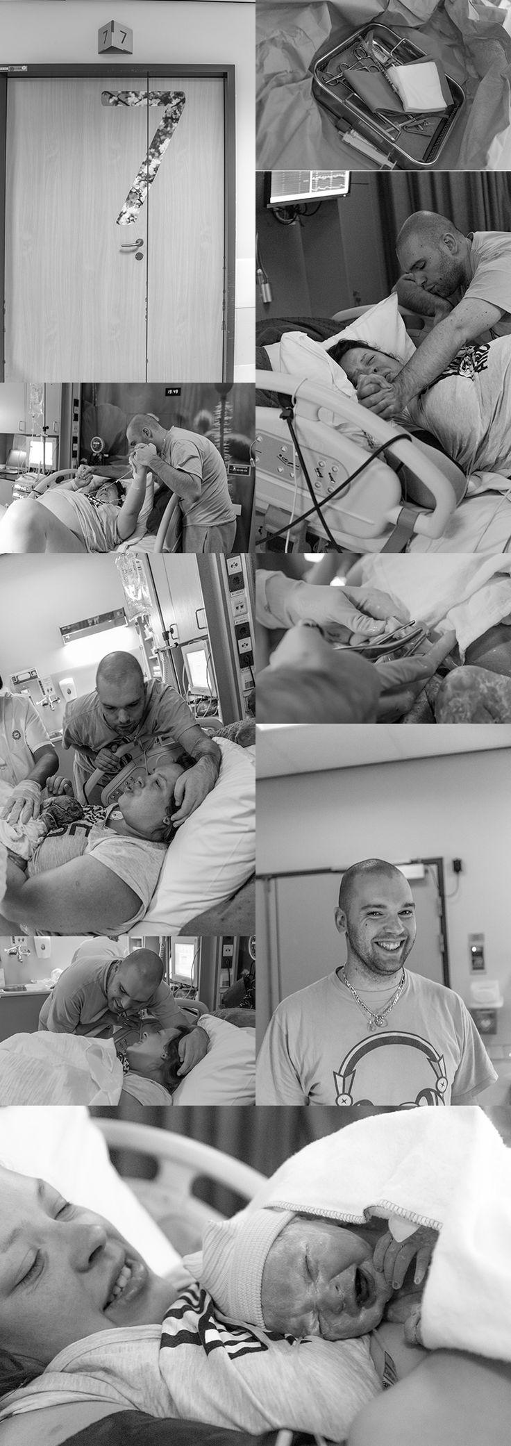 Mijn droom kwam uit, ik had een geboortefotograaf bij mijn bevalling en ik laat jullie een deel van de gemaakte foto's zien.