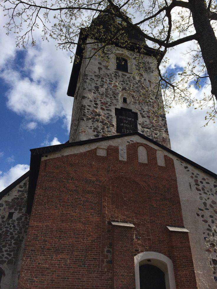 A church in Naantali, Finland