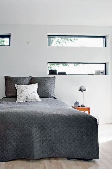 1000 Ideas About Window Above Bed On Pinterest Small