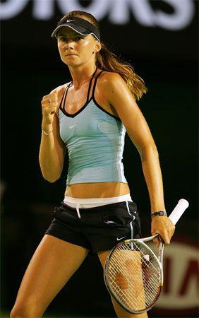 Daniela Hantuchova, Slovakian Tennis Player.