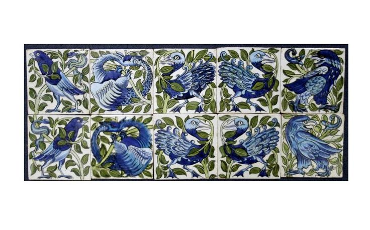 Master ceramicist William de Morgan - Telegraph: Crafts Movement, Ceramicist Williams, De Morgan Telegraph, Мајстор Церамицист, Master Ceramicist, 19Th Century Artists, Вилијам, Tile News, Морган