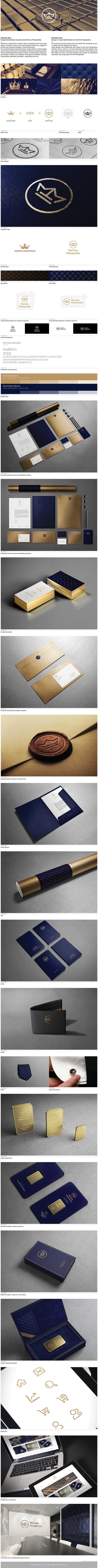 Like the business cards and packaging. Also the overall branding is great as well. Very comparative.   Mennica Małopolska by Marcin Usarek, via Behance