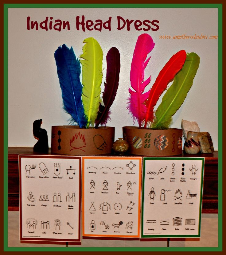 All kids seem to enjoy making an Indian Head Dress and it's a perfect opportunity to teach the importance the American Indians played in saving the Pilgrims when they came.  www.amothersshadow.com