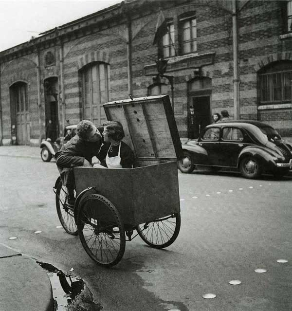 Robert Doisneau (April 14, 1912 – April 1, 1994) was a French photographer noted for his frank and often humorous depictions of Paris street life.