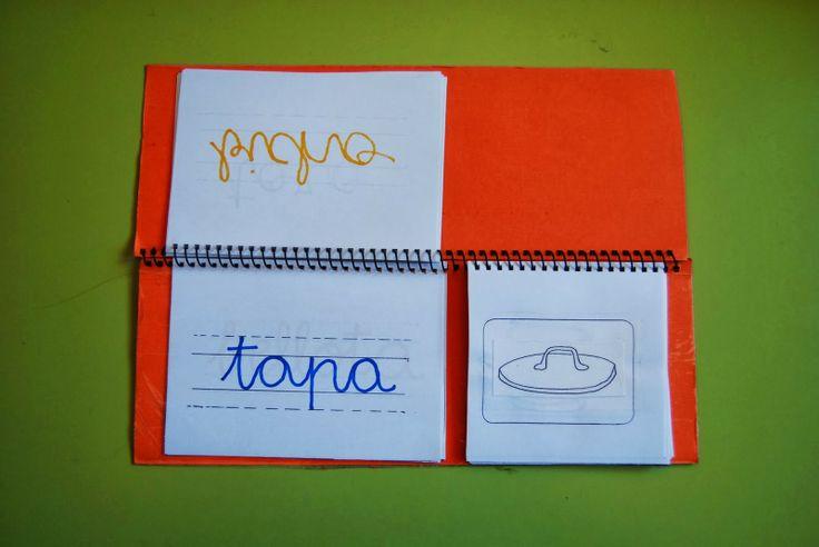 La clase de hablar: Libros móviles imágen-palabra