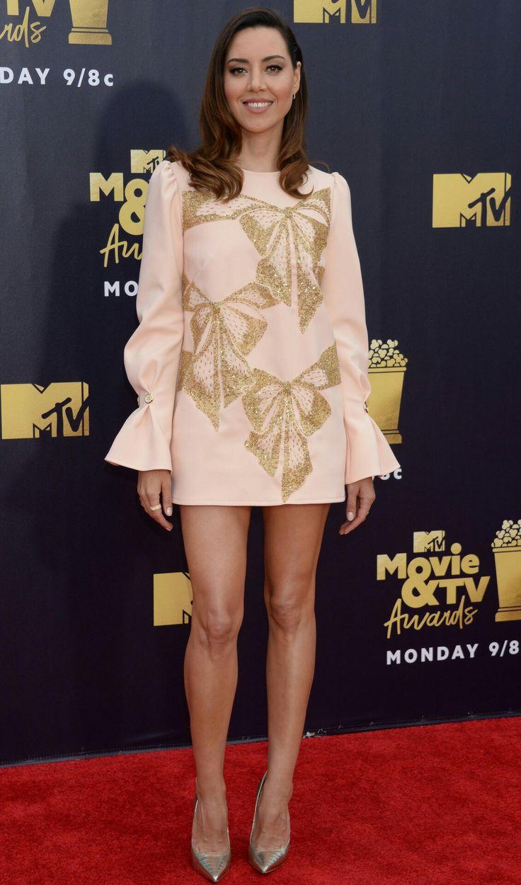 Aubrey Plaza | Aubrey plaza, Celebrities female, Mini dress