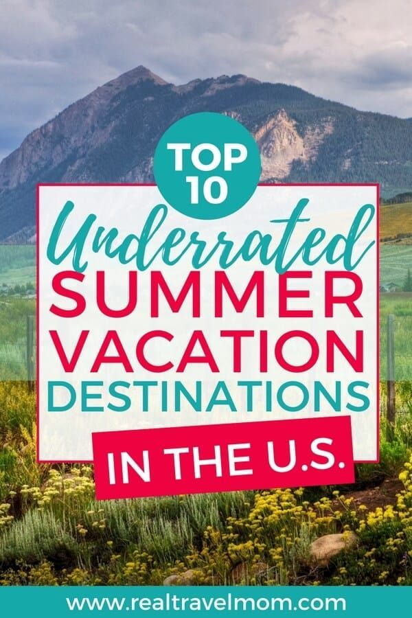 Top 10 Family Summer Vacation Ideas In The Us For 2018 Best
